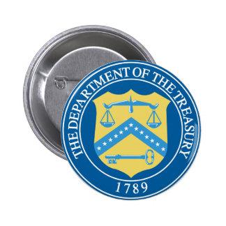 Treasury Department 6 Cm Round Badge
