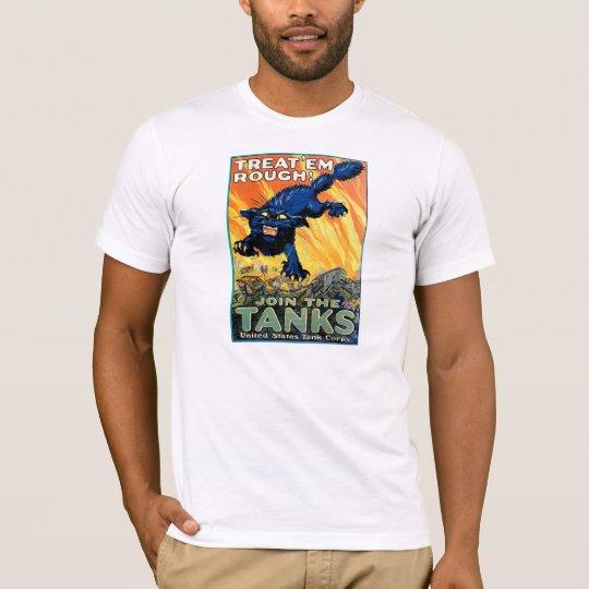 """TREAT EM ROUGH"" ADVERTISEMENT POSTER T-Shirt"