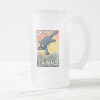 Treat Em Rough World War 2 Coffee Mug