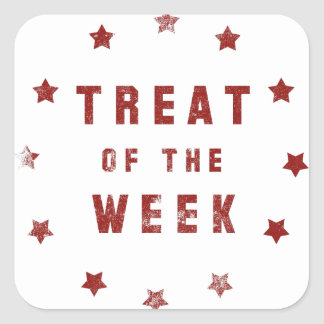 Treat of the Week Square Sticker