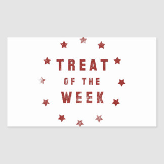 Treat of the Week Rectangle Sticker