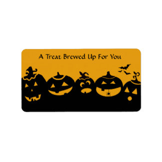 Treat stickers