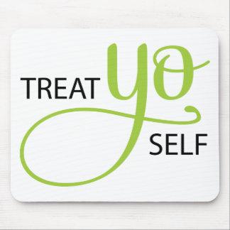 Treat Yo Self Lime Mouse Mat