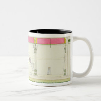 Treaty of the Nawab with the British at Benares in Two-Tone Coffee Mug