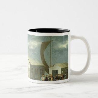 Treaty of Tilsitz, 1807 Two-Tone Coffee Mug