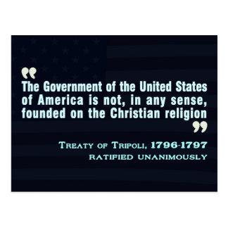 Treaty of Tripoli, 1796-97 Post Cards