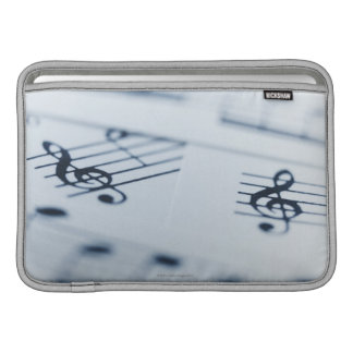 Treble Clef 2 Sleeve For MacBook Air