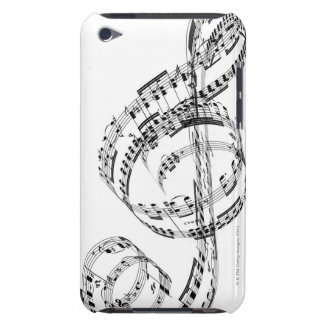 Treble Clef Barely There iPod Covers