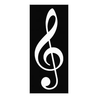 treble clef custom invites