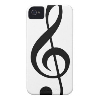 Treble Clef G-Clef Musical Symbol iPhone 4 Cover