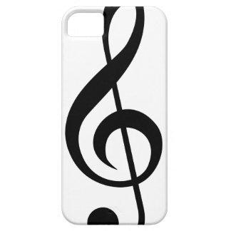 Treble Clef G-Clef Musical Symbol iPhone 5 Cases