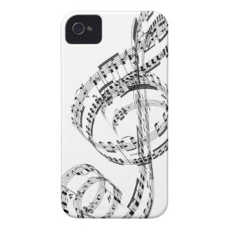 Treble Clef iPhone 4 Covers