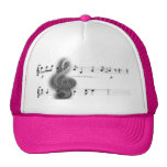 Treble Clef Music Shirts and Clothing Cap