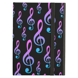 Treble Clef Musical Notation Symbol Pattern iPad Air Case