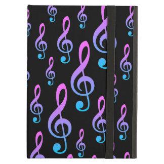 Treble Clef Musical Notation Symbol Pattern iPad Air Case
