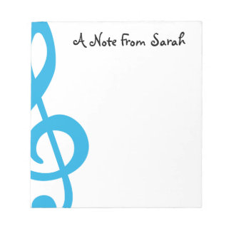 Treble Clef Notepads