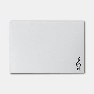 Treble Clef Post-it Notes