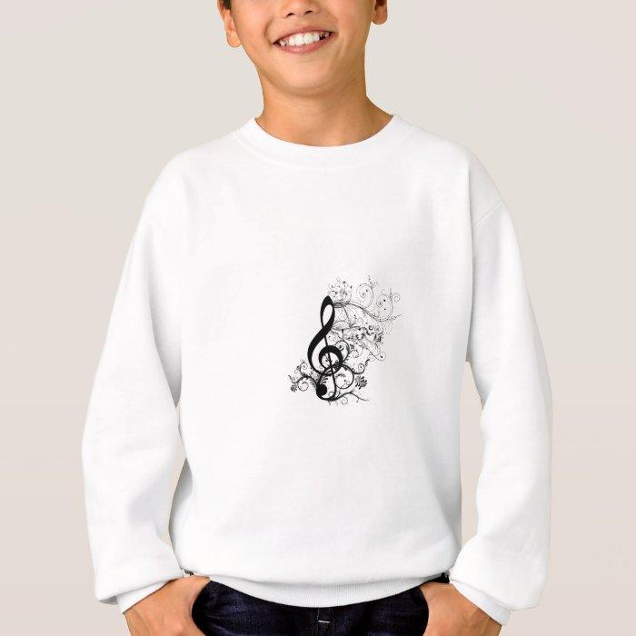 Treble Cleff Sweatshirt