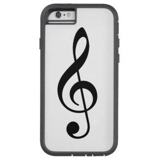 Treble Cleft Case Tough Xtreme iPhone 6 Case
