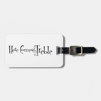 Treble Luggage Tag