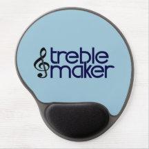 Treble Maker Gel Mouse Pad