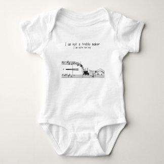 Treble makers baby bodysuit