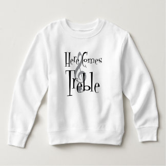 Treble Toddler Sweatshirt