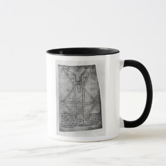 Trebuchet, machine to throw arrows mug