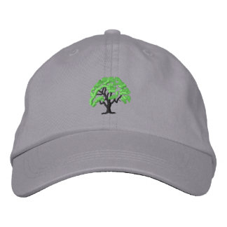 Tree 1 embroidered hat