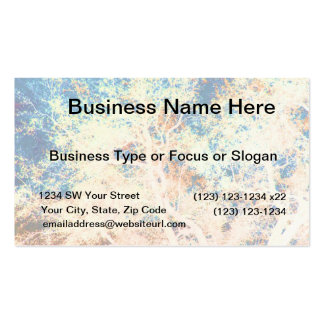 Tree abstract orange and blue background business cards