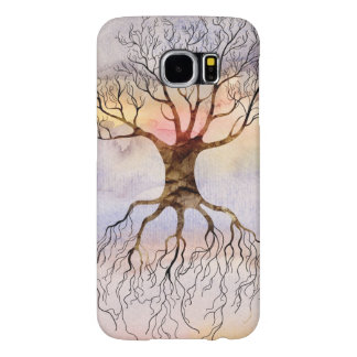 Tree Against The Sky Samsung Galaxy S6 Cases
