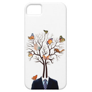 Tree and butterflies iPhone 5 cases