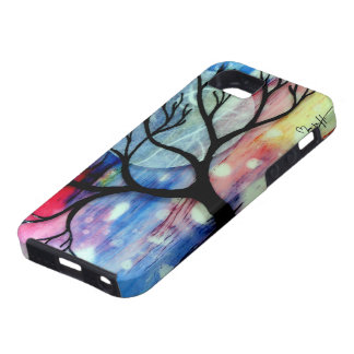 Tree and Ink Transparent Layers iPhone 5 Covers