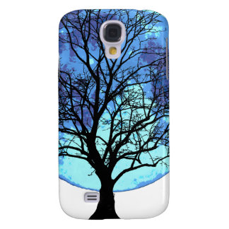Tree and Moon Galaxy S4 Case