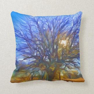Tree and Morning Sun Cushion