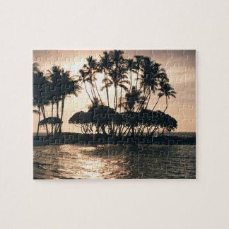 Tree and Sea Jigsaw Puzzle