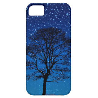 Tree and stars barely there iPhone 5 case