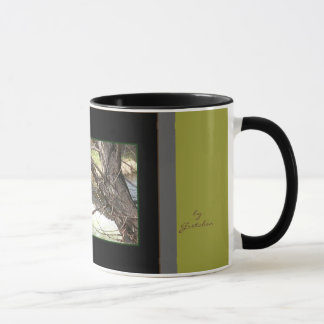 Tree and Water Coffee Tea Mug by Gretchen