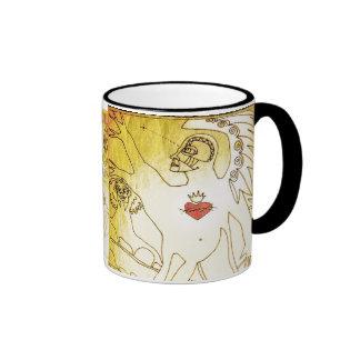 tree angel mug