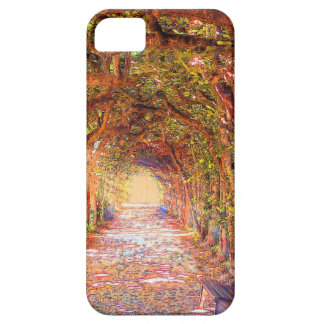 tree arch tunnel alley iphone case cover iPhone 5 cases