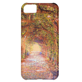 tree arch tunnel alley iphone case cover iPhone 5C cases