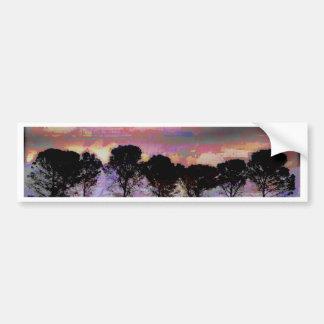 Tree Art Bumper Sticker