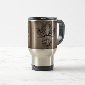 Tree Art Travel Mug