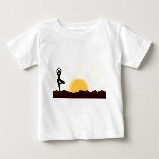 Tree Asana Baby T-Shirt