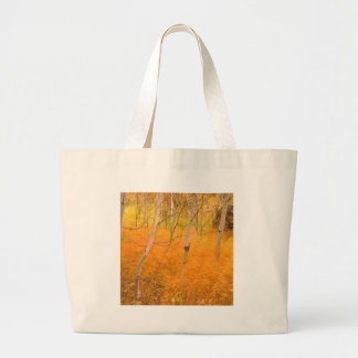 Tree Aspens And Windblown Grasses Idaho Bag