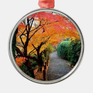 Tree Autumn Colors Japan Christmas Tree Ornaments