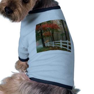 Tree Autumn Splendor Doggie Shirt