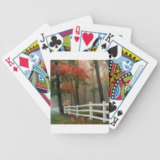 Tree Autumn Splendor Bicycle Card Decks