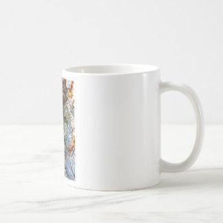 Tree Bark Abstract Basic White Mug