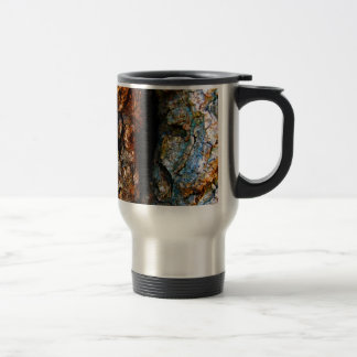 Tree Bark Abstract Coffee Mug